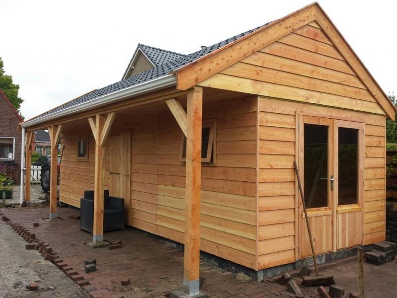 Houten Garage Prijs : Prijzen houten schuur interesting schuur van douglash hout with